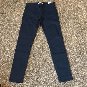 Dark blue Abercrombie and Fitch Jeans